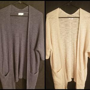 ❤Lou&Grey 3/4 sleeve cardigan bundle❤